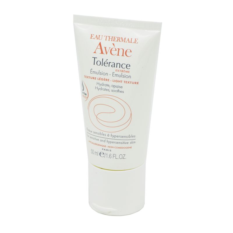 AVENE TOLERANCE EXTREME Emulsion Texture Légère - Peaux Sensibles à Hypersensibles - Innovation maje