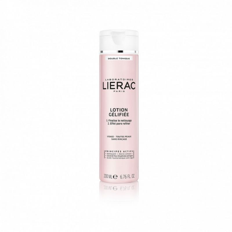 LIERAC Lotion Gélifiée DOUBLE TONIQUE Visage - T/200ml