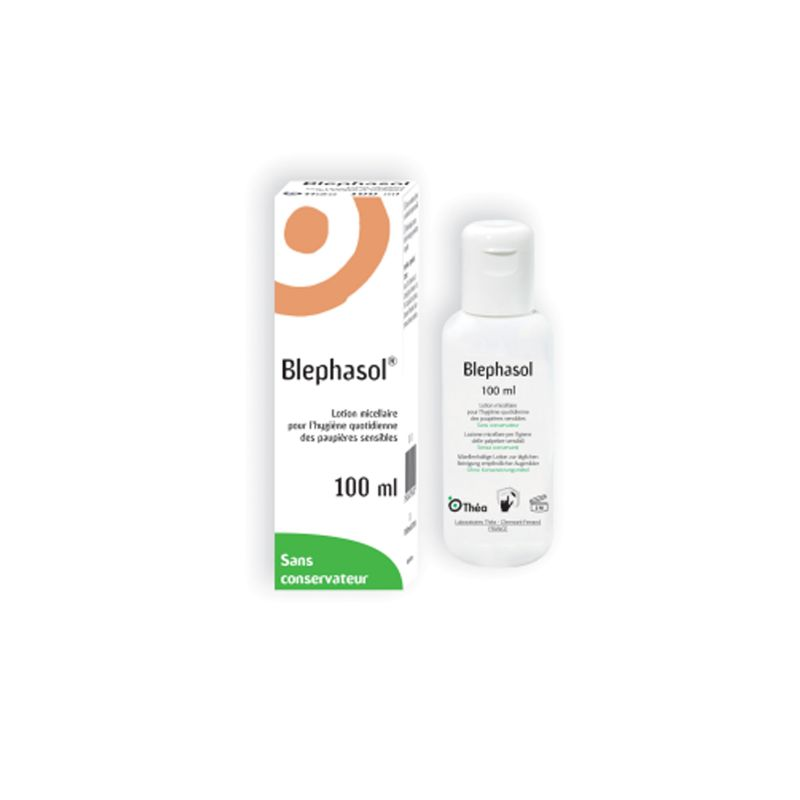 BLEPHASOL Lotion micellaire, Flacon 100 ml