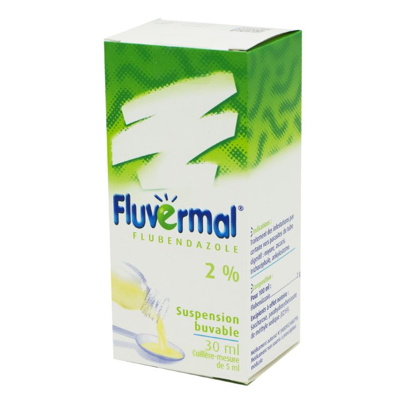 Fluvermal 2%, suspension buvable - Flacon 30 ml