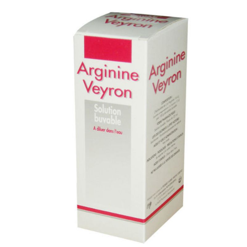 Arginine Veyron, solution buvable en flacon 250 ml