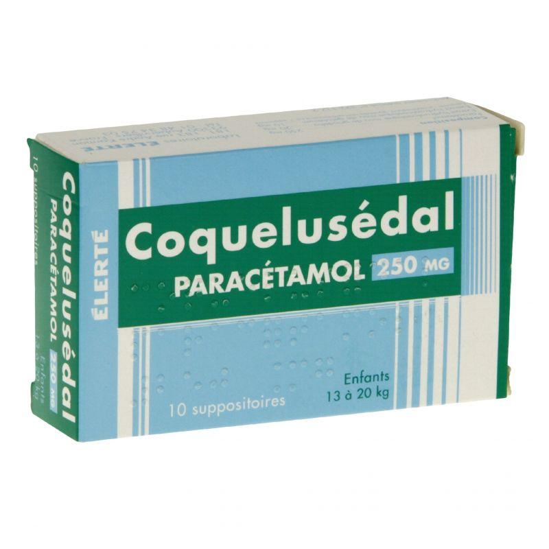 COQUELUSEDAL PARACETAMOL Enfant suppositoires Pharmacie du