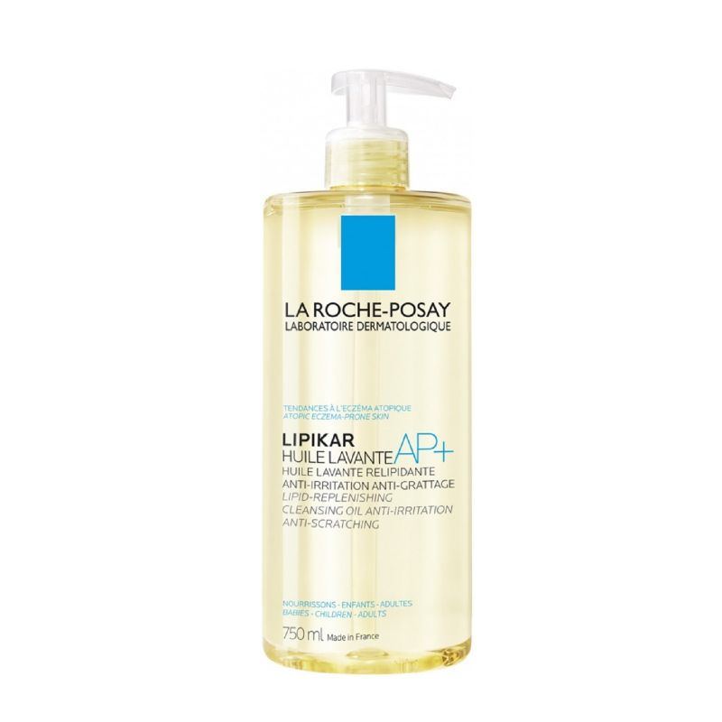 LIPIKAR Huile Lavante AP+ 750ml - Relipidante Anti Irritation, Anti Grattage