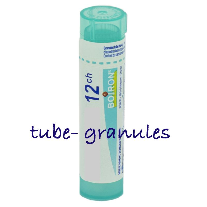 Phytolacca decandra tube-granules, 8DH, 4 à 30CH - Boiron