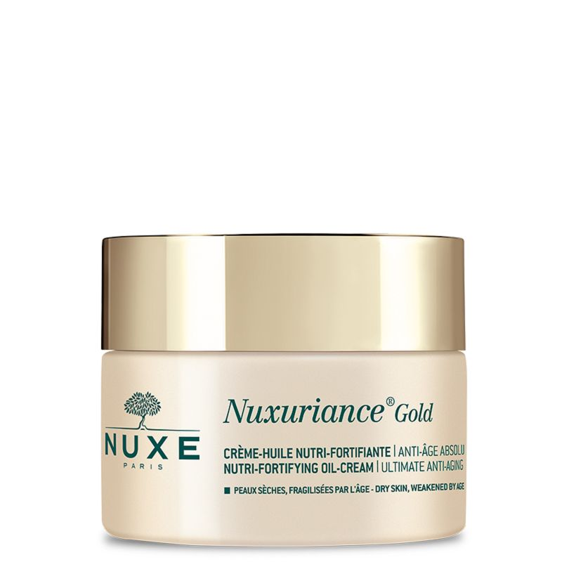 NUXE Nuxuriance Gold Crème Huile Nutri Fortifiante Anti Age Absolu - Peaux Sèches Fragilisées - 50ml