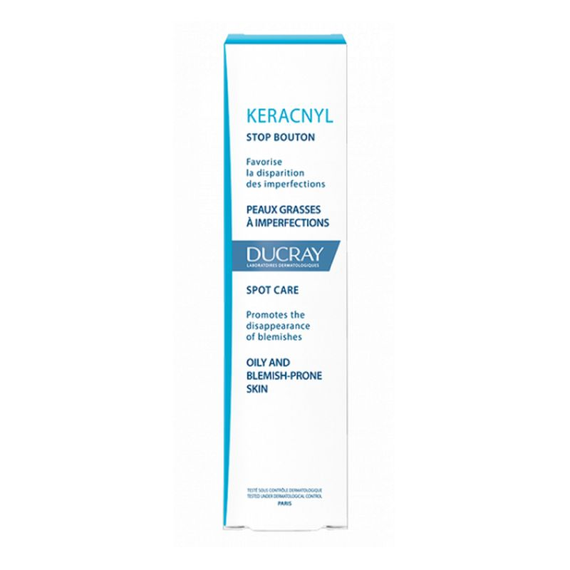 KERACNYL Stop Bouton Visage 10ml - Peaux Grasses à Imperfections