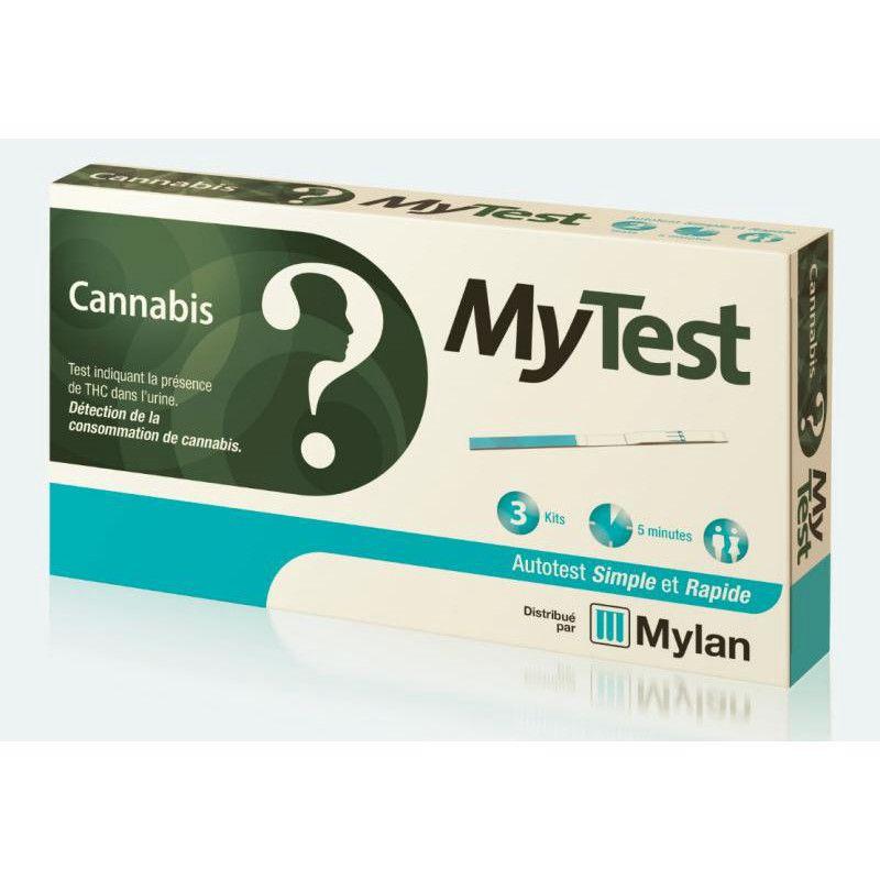 mylan mytest cannabis my test autotest indiquant la pr sence de thc. Black Bedroom Furniture Sets. Home Design Ideas
