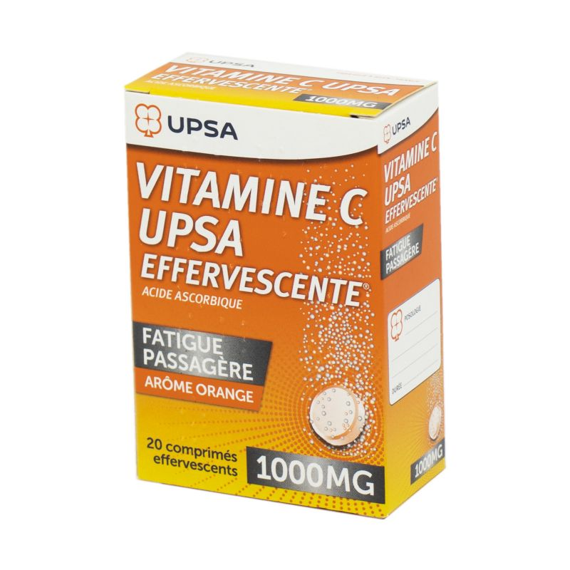Vitamine C Upsa 1000 mg , 20 comprimés effervescents