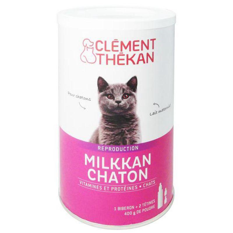 clement thekan milkkan chaton aliment complet d 39 allaitement pour ch. Black Bedroom Furniture Sets. Home Design Ideas