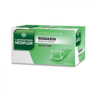 MEDIFLOR Infusion ROMARIN (Rosmarinus officinalis) pour Favoriser la Digestion - Plantes our Infusio