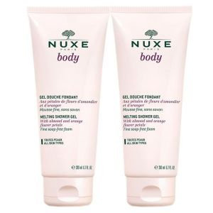 NUXE BODY OFFRE SPECIALE : Lot de 2 Gels Douche Fondants - T/200ml x2