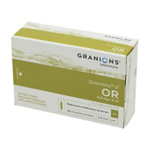 GRANIONS D'OR, solution buvable - 30 ampoules 2 ml