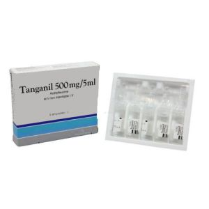 Tanganil 500 mg/5 ml, solution injectable I.V. - 5 ampoules