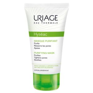 URIAGE Hyséac Masque Purifiant - Peaux Grasses à Imperfections - T/100ml