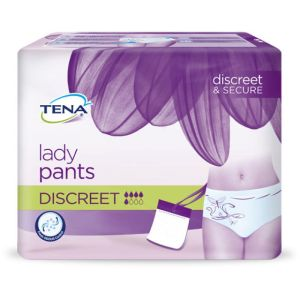 TENA LADY SILHOUETTE Normal L (Large) Tour de Hanches 95 à 125 cm - Sous Vêtement/Culotte Absorbant