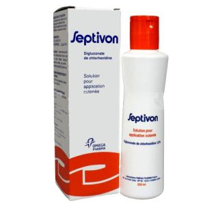 Septivon 1.5 %, solution cutanée - Flacon 500 ml