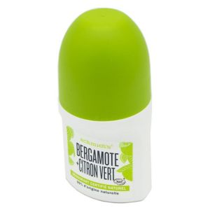 SCHMIDT'S Signature Roll-on Bergamote + Citron Vert 50ml - Déodorant Naturel - Certifié Vegan