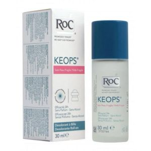 Déodorant à bille - Peau fragile - Roll-on /30ml - ROC KEOPS
