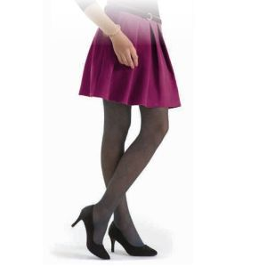 SIGVARIS INTRIGUE Bas Autofixant NOIR - Bas Cuisse de Contention Femme - Classe 2