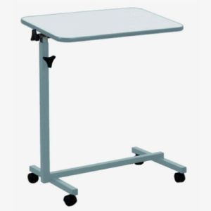 BETTERLIFE la Table de Lit Gris Perle - Plateau Multi Positions Ajustables Hauteur et Rotation