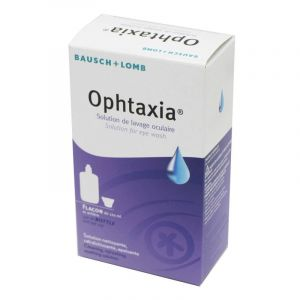 OPHTAXIA Solution Ophtalmique pour Lavage Oculaire Flacon 120ml