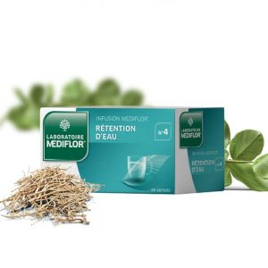 MEDIFLOR N°4 RETENTION D'EAU, tisane - 24 sachets