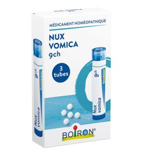 Nux vomica 9CH, Pack 3 Tubes - Boiron