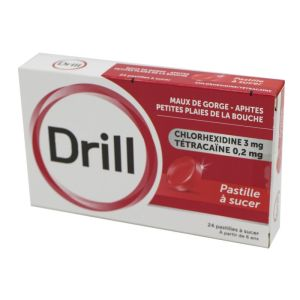Drill, 24 pastilles à sucer