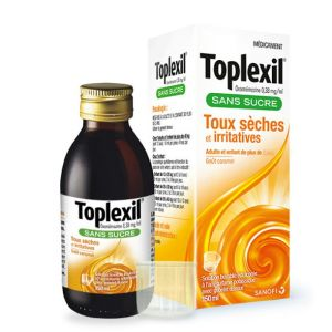 Toplexil, solution buvable, sans sucre - Flacon 150ml