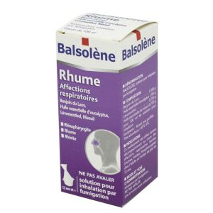 BALSOLENE, solution pour inhalation par fumigation - Flacon 100 ml