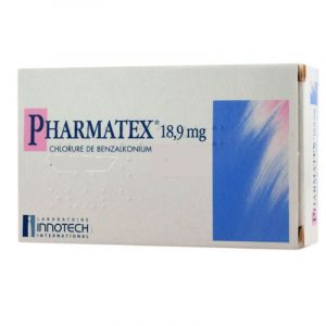 PHARMATEX 18,9 mg, 10 ovules