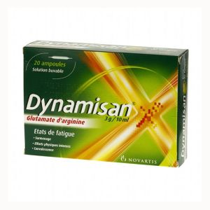 DYNAMISAN 3 g/10 ml, solution buvable - 20 ampoules de 10 ml