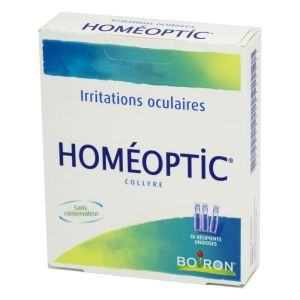 HOMEOPTIC, collyre - 10 unidoses 0,4 ml