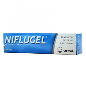 NIFLUGEL 2,5 %, gel - Tube 60g