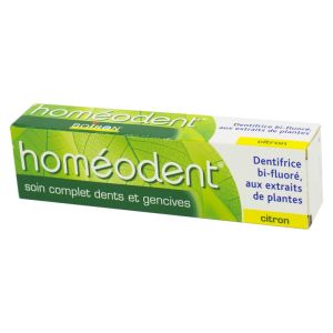 Boiron Homéodent Soin Complet Dents et Gencives Citron 75ml
