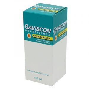 Gaviscon Nourrissons, suspension buvable - Flacon 150 ml