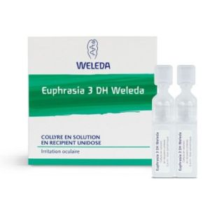 WELEDA EUPHRASIA 3DH, Collyre en Solution, 10 Unidoses