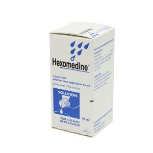 Hexomedine 0,01%, solution pour application locale - Flacon 45ml