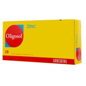 OLIGOSOL ZINC, solution buvable - 14 ampoules 2ml