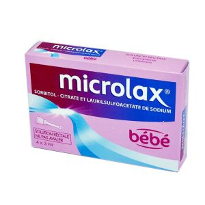MICROLAX Bébé solution rectale, 4 unidoses