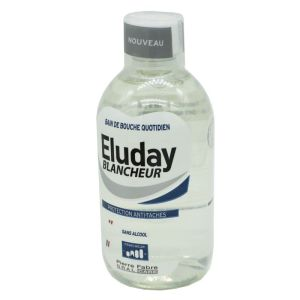 ELUDAY BLANCHEUR 500ml - Solution pour Bain de Bouche - Protection Anti-tâches