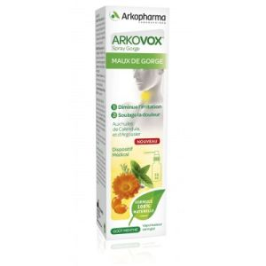 Arkovox® Spray Maux de Gorge - Irritations, Inflammations, Hydratation des Muqueueuses - 30 ml