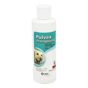 PULVEX Shampooing Anti Parasitaire Externe pour Chien - Shampoing Insecticide et Acaricide (Puces, T