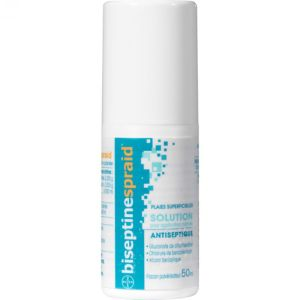 BISEPTINESPRAID Solution pour Application Cutanée - 50 ml