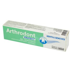ARTHRODONT PROTECT 75ml Dents et Gencives - Gel Dentifrice (Fluorinol, Acide Glycyrrhétinique)