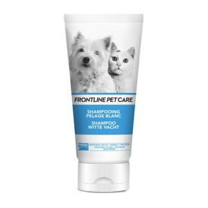 FRONTLINE PET CARE Shampooing Pelage blanc Chien Chat - Tube 200 ml