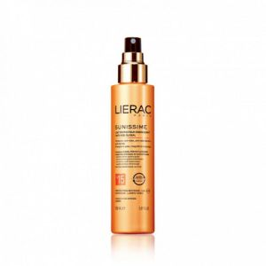LIERAC SUNISSIME Lait Protecteur Energisant SPF15 Anti Age Global Corps - Spray/150ml