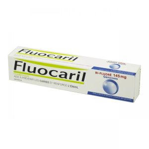 FLUOCARIL Bi-Fluoré 145 mg Gencives - Dentifrice Prévention Gencives et Caries, Renfort Email - 75ml
