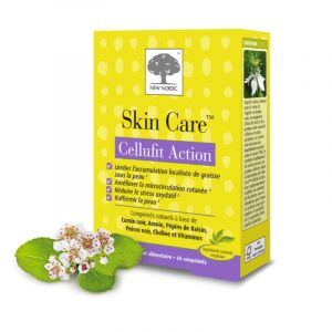 SKIN CARE Cellufit Action 60 Comprimés - Minceur, Cellulite - Cumin, Aronie, Poivre, Choline