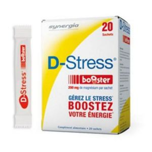 D STRESS BOOSTER Complément Alimentaire Adaptogène, Anti Stress, Anti Fatigue - Bte/20 Sachets - SYN